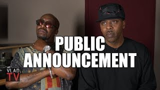 Public Announcement on Jay Z's Camp Pepper Spraying R Kelly on 'Best of Both Worlds' Tour (Part 10)