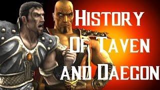 History Of Taven And Daegon Mortal Kombat X