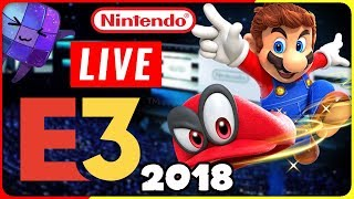 🔴 E3 2018 NINTENDO Präsentation LIVE REACTION