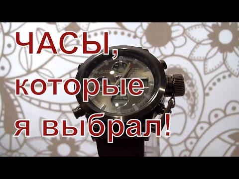 Мужские часы AMST - часы командирские (водонепроницаемые наручные часы мужские)+ портмоне Baellerry