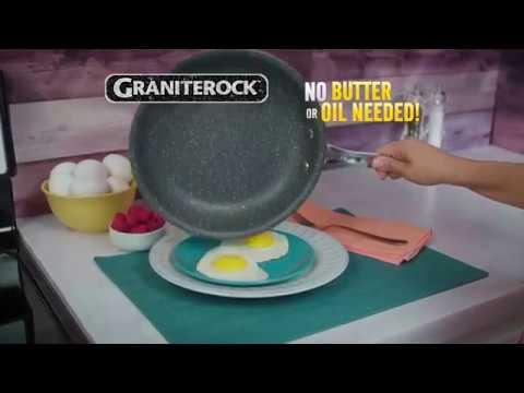 Granite Rock Frying Pan – As Seen on TV