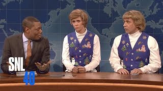 Weekend Update: Garth And Kat Sing Hanukkah Songs - SNL