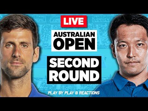 🔴 DJOKOVIC Vs ITO   Australian Open 2020   LIVE Tennis Stream Play-by-Play