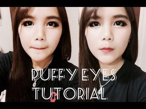 korean ulzzang make up tutorial in 5 mins smiling eyes
