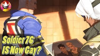 Overwatch Soldier 76 Being Gay is Useless Pandering