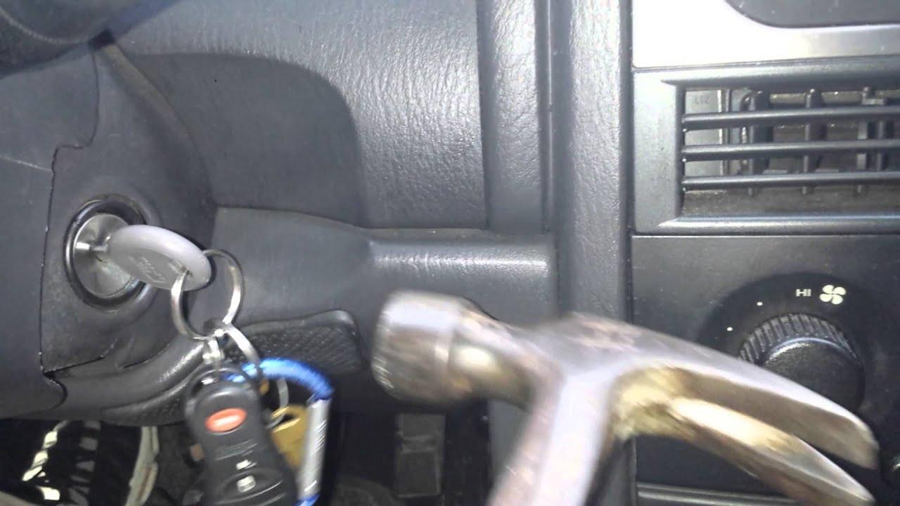 grand cherokee jeep key ignition problem youtube. Black Bedroom Furniture Sets. Home Design Ideas