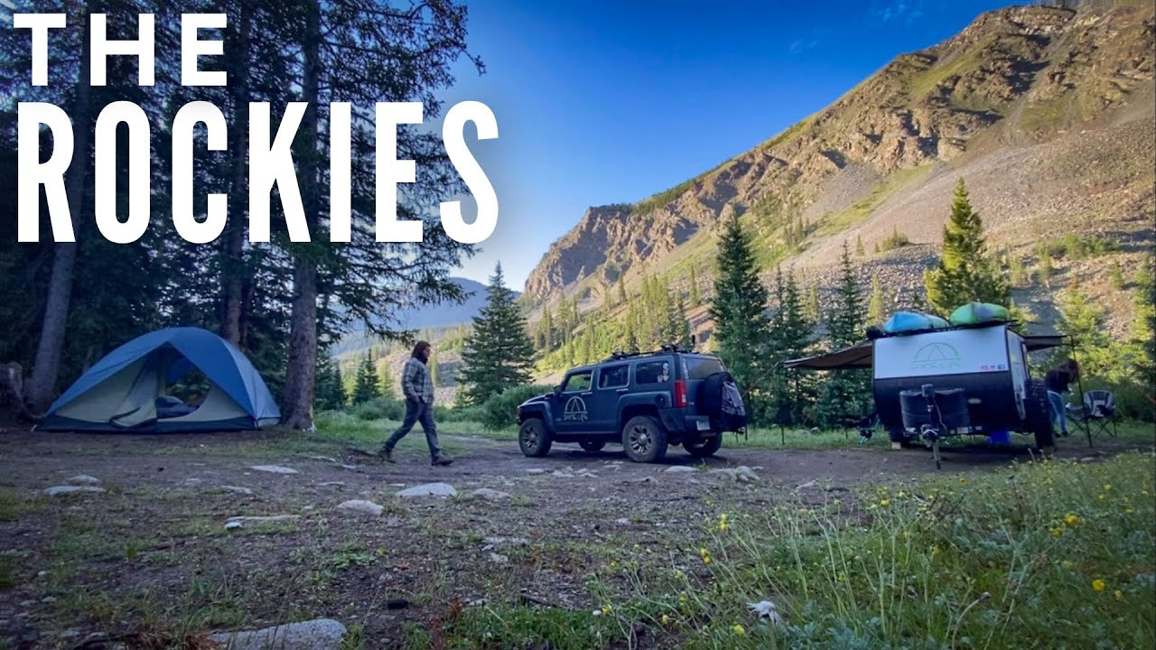 Camping Colorado to Wyoming | The Rocky Mountains