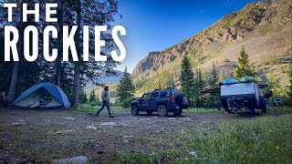 Camping Colorado to Wyoṁing | The Rocky Mountains
