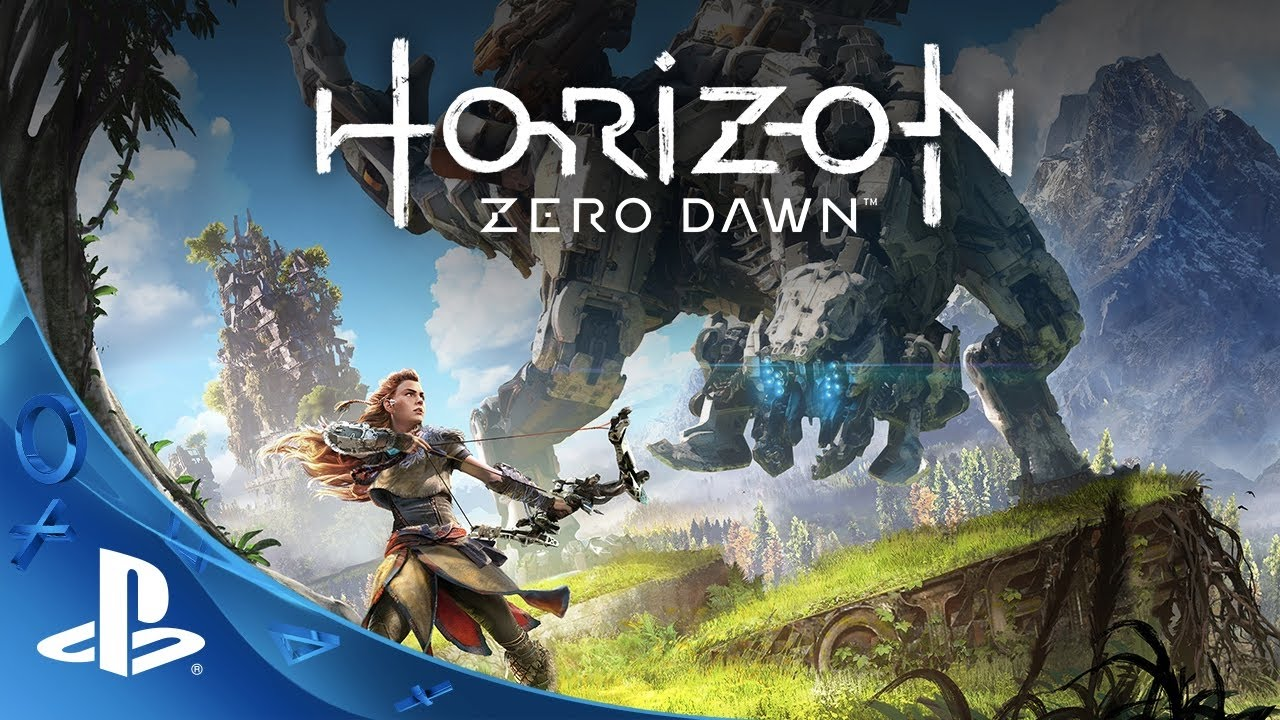 horizon zero dawn ps4 a primeira hora do jogo gameplay youtube