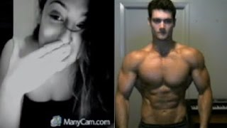 Aesthetics on Chatroulette and Omegle Original (Girls' Reactions)(Showing off the aesthetics on Chatroulette and Omegle. Girls reactions are priceless when they see my physique! Facebook: ..., 2016-03-02T03:33:29.000Z)