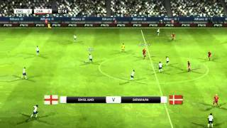 PES 2012 PC game play