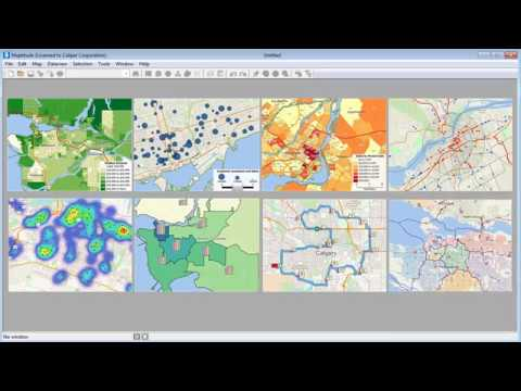 Maptitude Canada Mapping Software - Canada Map Software