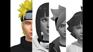 Sims 4 ~ Create a sim ~ Naruto Uzumaki (With CC)