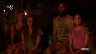Anıl ve Burçak Konseyde Kavga Etti Survivor 2017 77. Bölüm