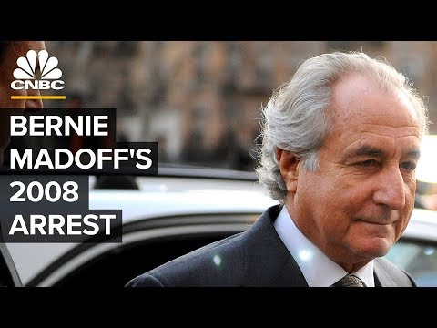 CNBC's 2008 Coverage Of Bernie Madoff's Ponzi scheme