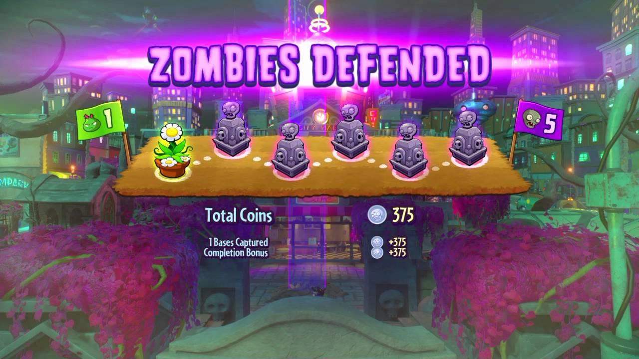 Plants Vs Zombies Garden Warfare 2 Trouble In Zombopolis Map Walkthrough Youtube