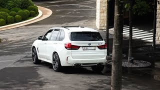 700HP BMW X5M - LOUD revs and accelerations!