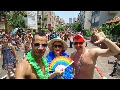 Tel Aviv - Pride 2018 - Jerusalem - Dead Sea - HD