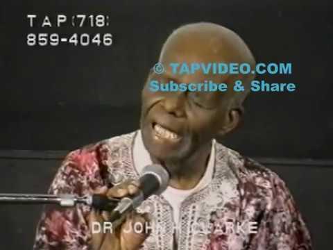 Dr. John Henrik Clarke - Pan Africanism or Perish