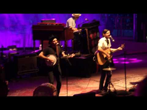 "Avett Brothers "" Salvation Song"" Red Rocks 07.12.15"