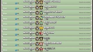 Clash of Clans | Nuoc Mam is Showing Off War's Records