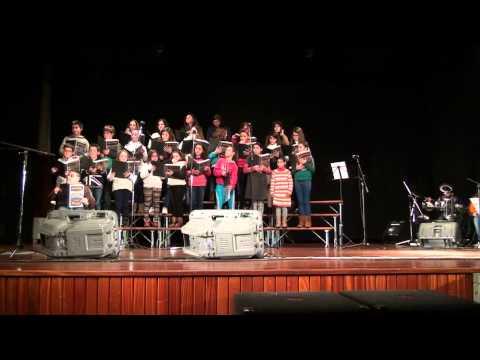 Coral Jovem Cristão da Paróquia de Recardães no 2º Festival de coros em Recardães