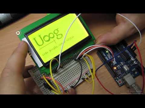 Подключение дисплея LCD12864B на ST7920 к Arduino по SPI