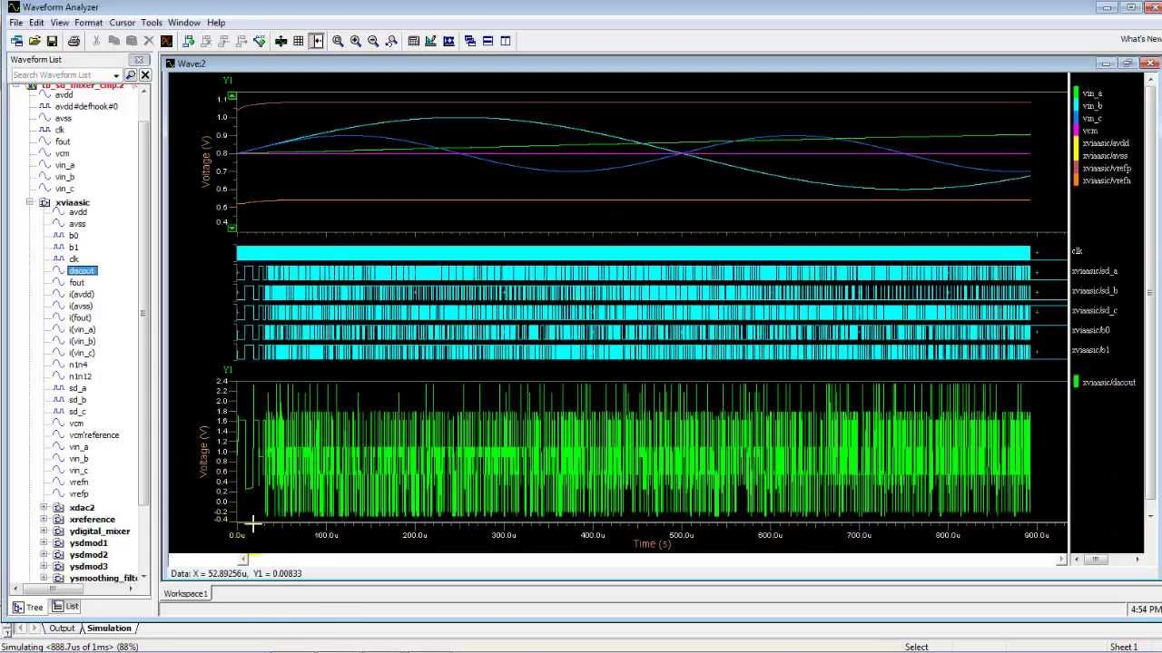 Sigma Delta Audio Mixer - Triad Semiconductor