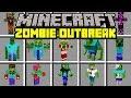 Minecraft ZOMBIE OUTBREAK MOD! | DEFEND AND BATTLE EVIL ZOMBIE APOCALYPSE! | Modded Mini-Game