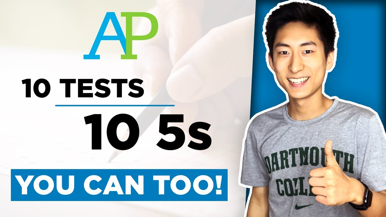 How I Got 5s on All My AP Exams (And How You Can Too!)