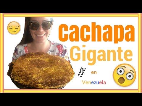 ¡Descubrí una cachapa gigante! | Comiendo en Venezuela