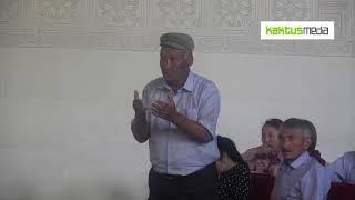 Первомайцы недовольны работой айыл окмоту. Но аким запретил отвечать ему на вопросы жителей