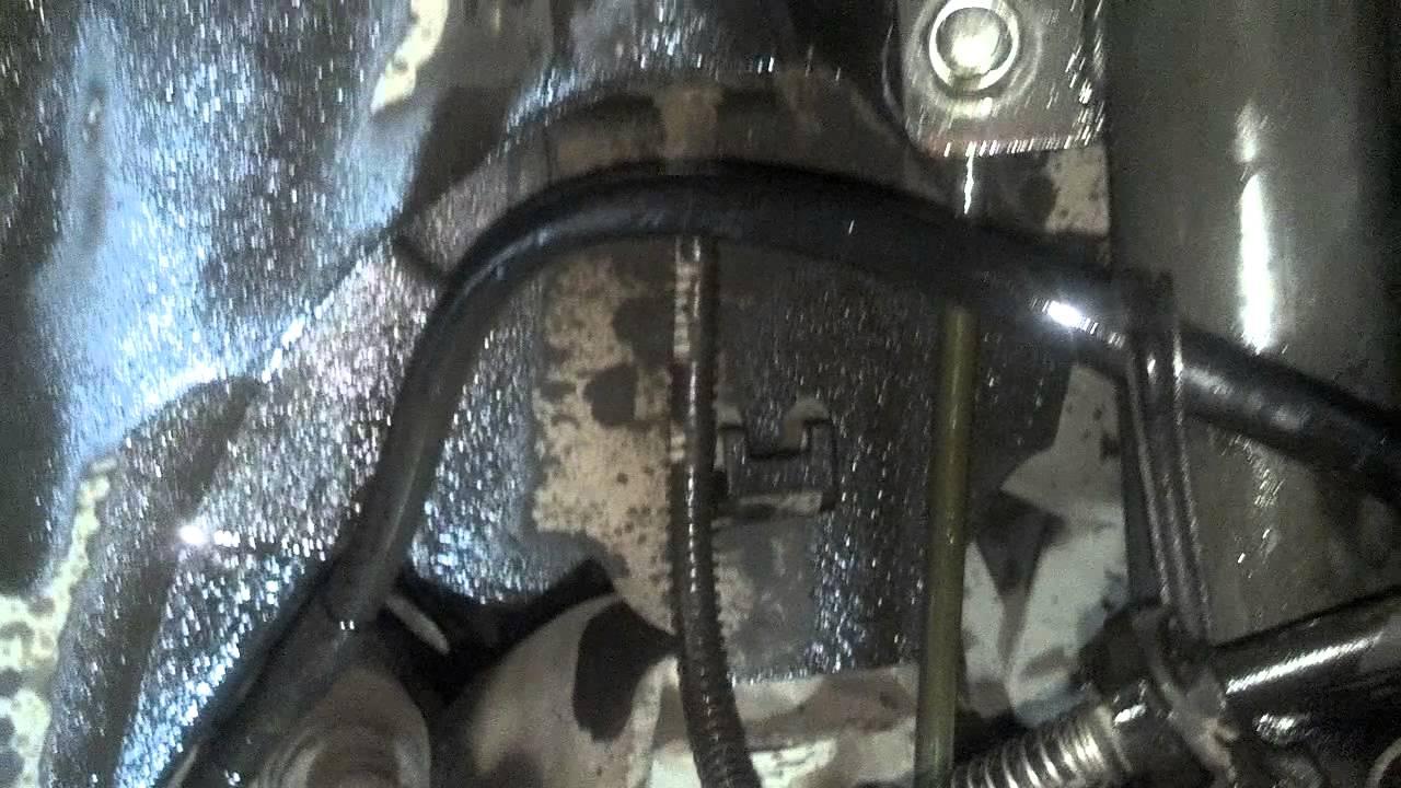 citroen c5 2004 h3 front ram return pipe leak youtube. Black Bedroom Furniture Sets. Home Design Ideas