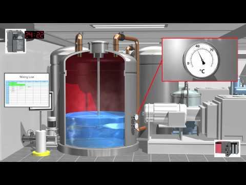 C Batch Process Control System - Basic Video