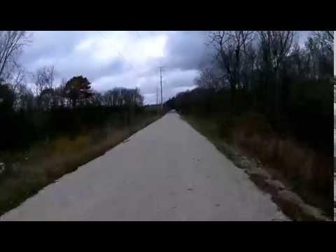 Eisenbahn State Trail - Part 1 (Northbound)  West Bend to Eden, WI