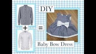 DIY Baby Bow Dress