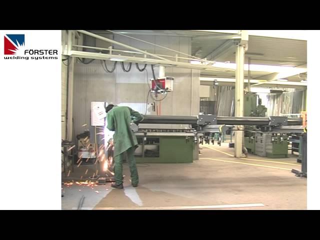 RAHMENSCHWEISSVORRICHTUNG - FRAME WELDING FIXTURE - WELDING TABLE