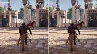 30 FPS vs  60 FPS Gaming - Assassins Creed Origin