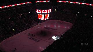 St. Louis Crowd Booing the Canadian National Anthem