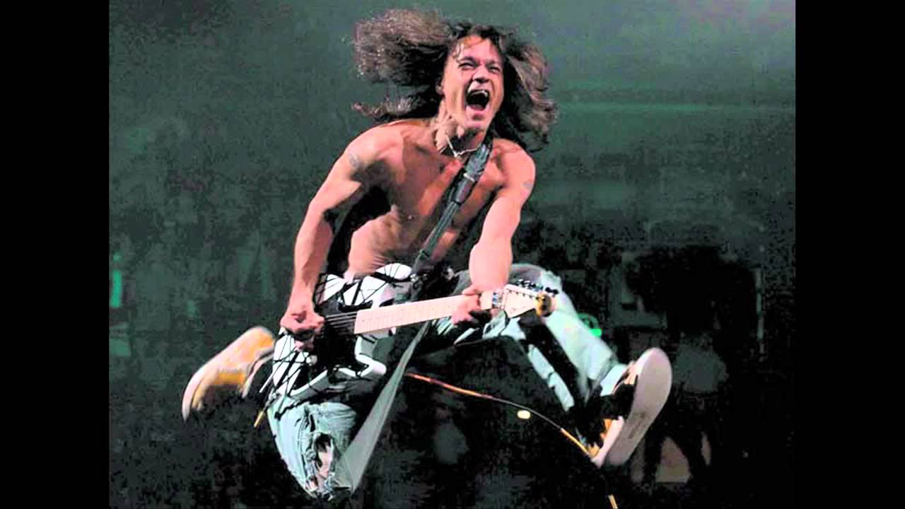 Van Halen - Jump - guitar backing track with vocals - YouTube