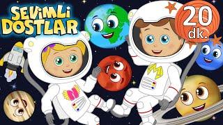 Gezegenler şarkısı ve Sevimli Dostlar Bebek Şarkıları  Çocuk şarkıları  Adisebaba Nursery Rhymes