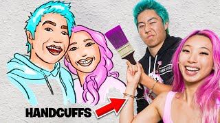 Extreme COUPLES ART Challenge vs ZHC!