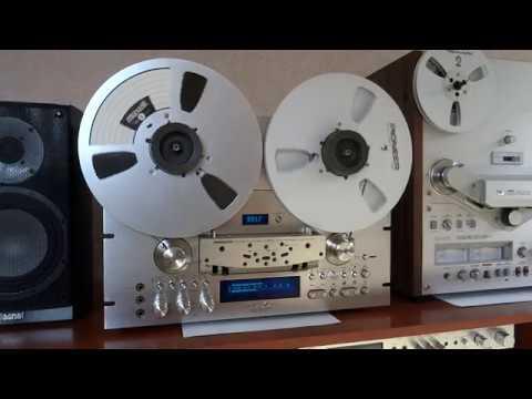 PIONEER RТ 909 КРАСАВЕЦ! и Maxell LNE 35-10 (1100м)
