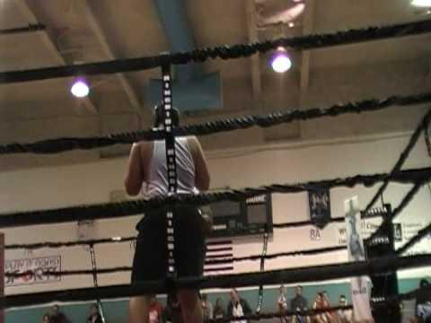 Legend's Gym Mark McAllister Second Fight Part 2
