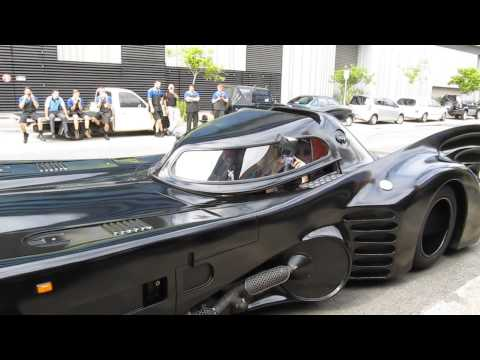 Batman - Passenger ride in the 1989 Batmobile replica.