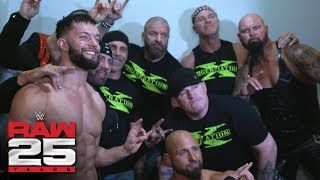 A rare photo opportunity with DX, The Bálor Club and Scott Hall: Raw 25 Fallout, Jan. 22, 2018