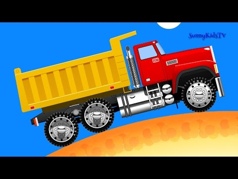 Thumbnail: Cars. Truck. Learn Fruits. Learn to count. Cartoon.