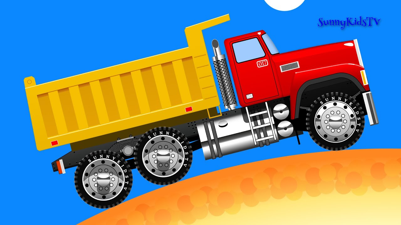 cars truck learn fruits learn to count cartoon youtube