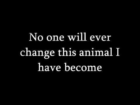 Three days grace -  Animal i have become lyrics