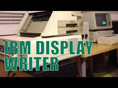 IBM 6580 Displaywriter system, 38 years old! (1980